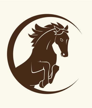 arabian horse: horse symbol