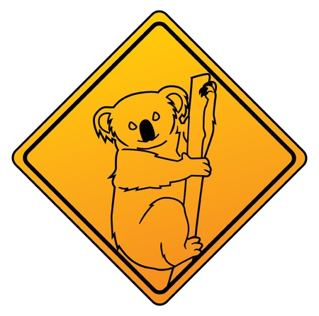 koala symbol Stock Vector - 17444786
