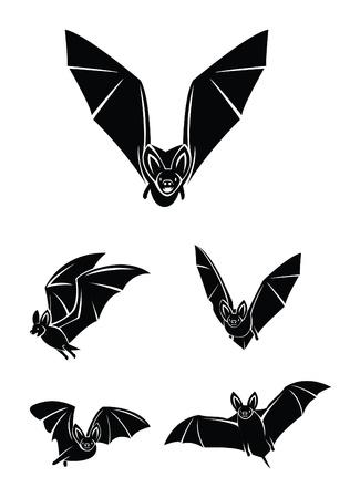 bat set collection Stock Vector - 17681921