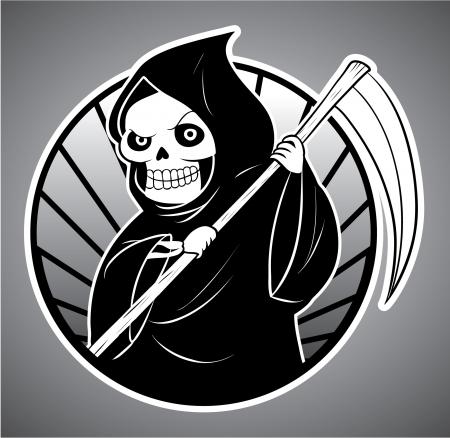 death evil Stock Vector - 18165606