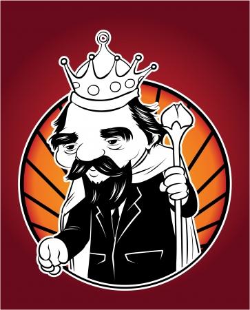 kingdom of god: king