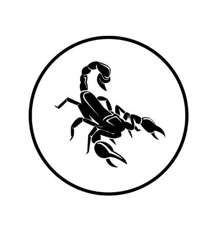 シンボル: さそり座  イラスト・ベクター素材