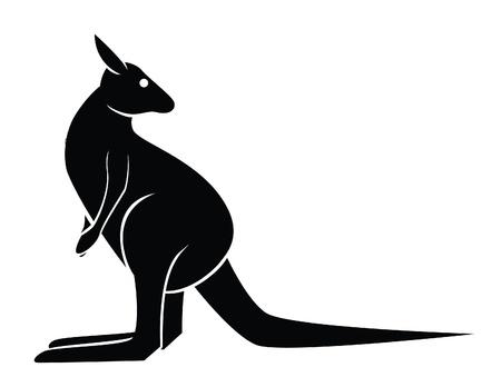 kangaroo Stock Vector - 18987353