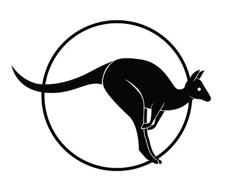 kangaroo Stock Vector - 18987361