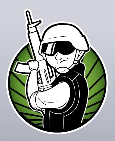 power rangers: soldier