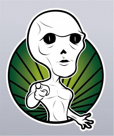alien Stock Vector - 18987416