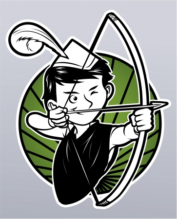 archer cartoon: robin hood