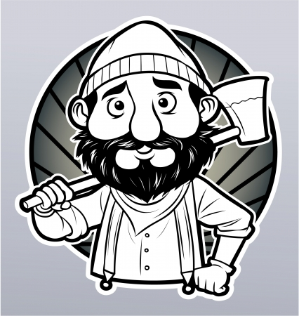 lumberman: lumberjack