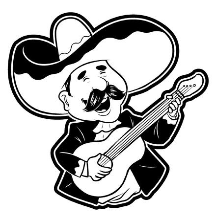 Feliz Guitar Player