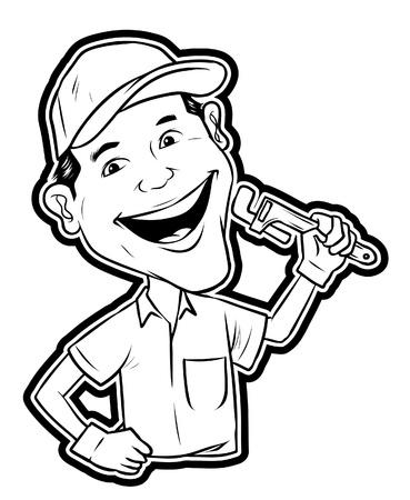 Repair man Ilustração