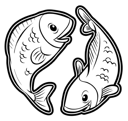 fish pisces Vector