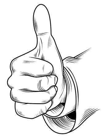 Thumb Up Stock Vector - 23020534