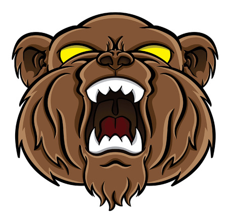 bear face Stock Vector - 24059701