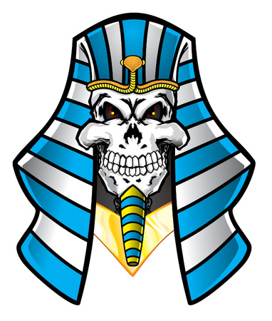 Pharaoh Skull Vector