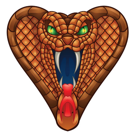 Cobra Head Illustration Vector
