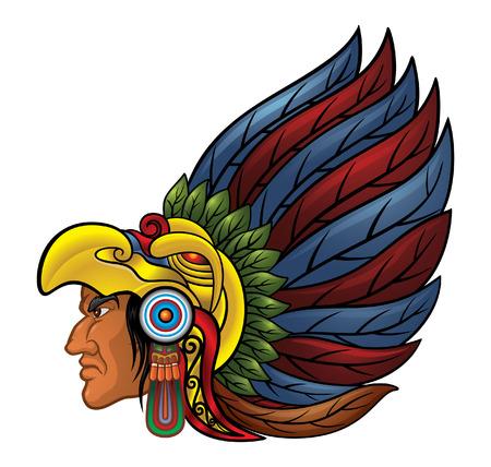 アステカ族の戦士