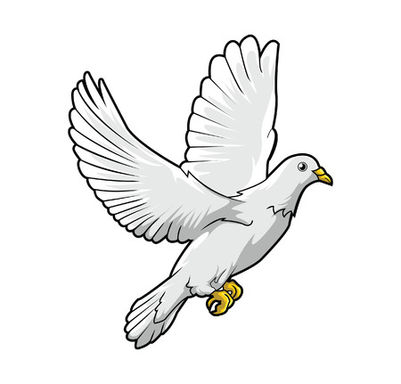 Dove Peace Illustration