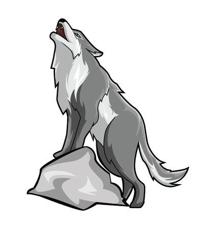 black wolf: Wolf
