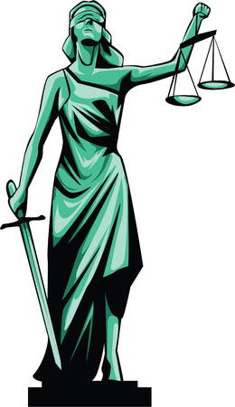 scale of justice: Justice Lady