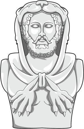 classicism: Hercules Illustration
