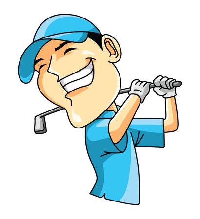 Golf Player Vetores