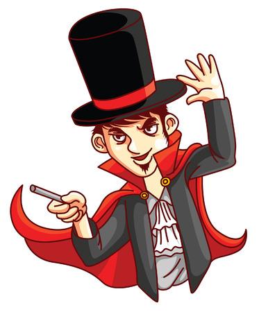 Magician Man Vector