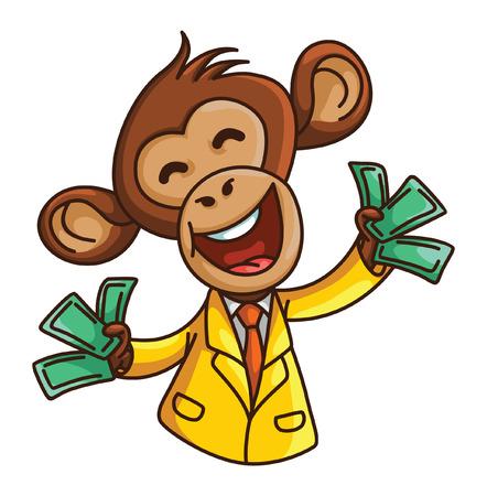 monkey suit: monkey business Illustration