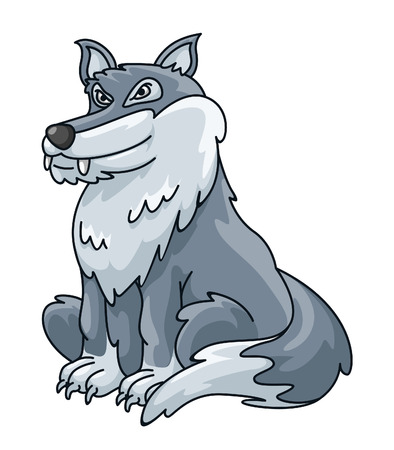 wolf face: Wolf