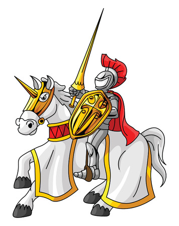joust: Knight Rider Illustration