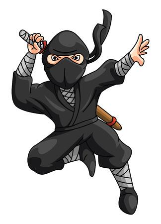 attire: Ninja Illustration