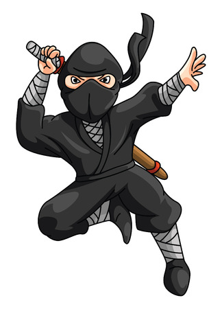Ninja Иллюстрация