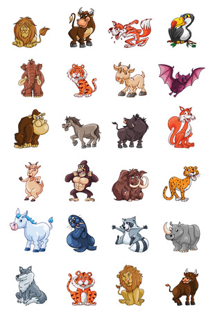 Wild Animal Collection Vector