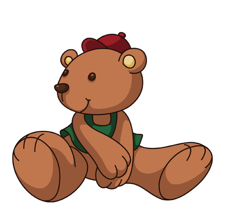 teddy bear cartoon: Teddy Bear Cartoon