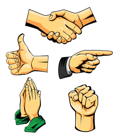 Hand Collection Illustration