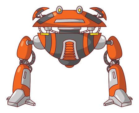 Flying Robot Vector