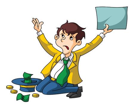 jobless: Jobless Businessman