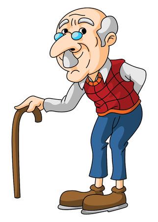 Anciano Vectores