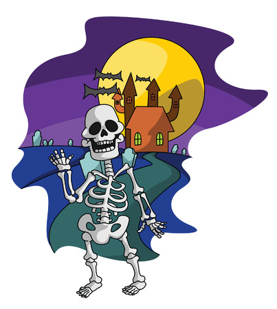 haloween: Esqueleto Haloween