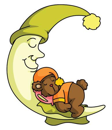 lullaby: El sue�o de peluche oso de la luna