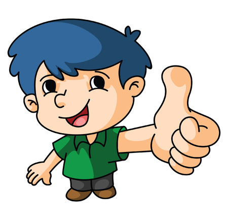 Boy Thumb Up