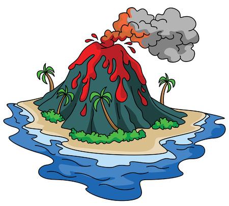 ausbrechen: Vulkan