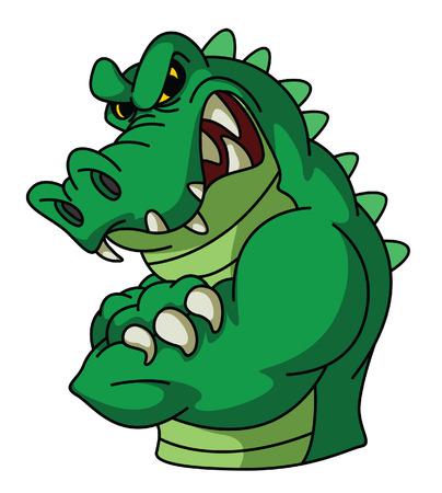 Crocodile Mascot Illustration