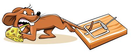 TRAP: Mouse Trap Illustration