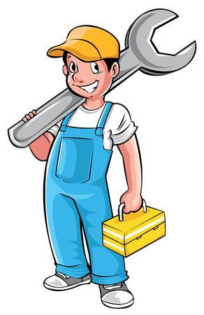 Loodgieter Stock Illustratie