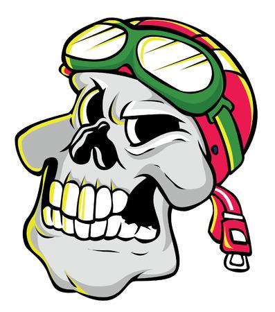 bony: Skull Illustration