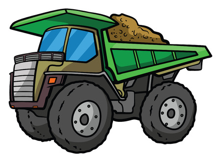 earth mover: Big Truck