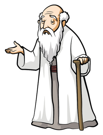 philosopher: Old Wise Man