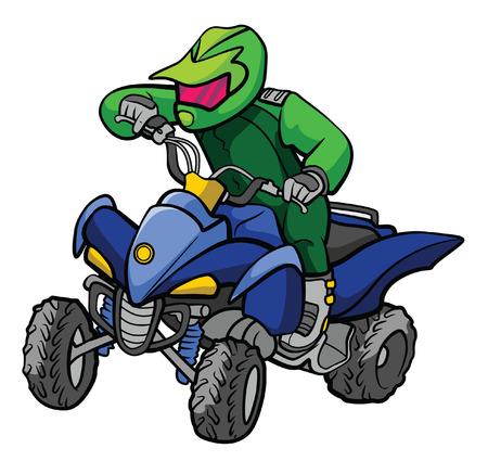 ATV moto Vector