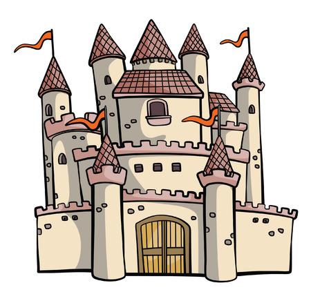 castillos de princesas: Castillo Vectores