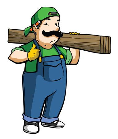 Carpenter Vector